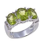 """Colleen Lopez """"Pretty Package"""" 3.96ctw Peridot Ring"""