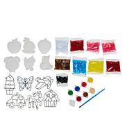 Colorbok Makit Bakit Suncatcher & Spark Magnet Combo