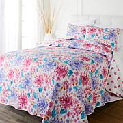 Concierge Collection 3-piece 100% Cotton Quilt Set