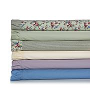 Cottage Collection 300TC 100% Cotton Ruffle Sheet Set