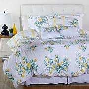 Cottage Collection Printed Ruffle 6-piece Comforter Set - Yellow Rose