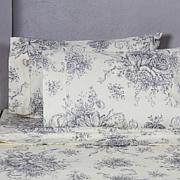 Cottage Collection Toile 400TC 100% Cotton Sheet Set-K