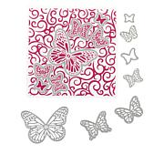 Crafter's Companion Butterfly Trails Chloe Cut and Emboss Set