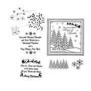Crafter's Companion Clear Christmas Stamps by Chloe