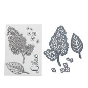 Crafter's Companion Cottage Lilac Stamp and Die Set