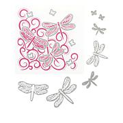 Crafter's Companion Dragonfly Swirls Chloe Cut and Emboss Set