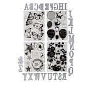 Crafter's Companion Eclipse Alphabet Stamps and Dies