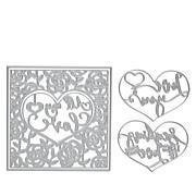 Crafter's Companion Gemini Create-A-Card Heart Dies