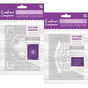 Crafter's Companion Regal Swirl Cut & Emboss Folders Kit