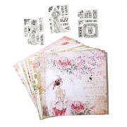 Crafter's Companion Roaring 20s Stamps and Card pack Bundle