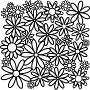 """Crafters Workshop 12"""" x 12"""" Plastic Template"""