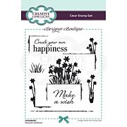 Creative Expressions Designer Collection A6 Stamp Set - Daffodils