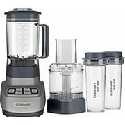 Cuisinart ReMixtrio Blender/Food Processor w/Travel Cups - Gun Metal