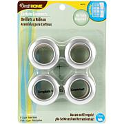 "Curtain Grommets with 1"" Inner Diameter 8 Pack"