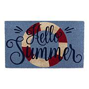 Design Imports Hello Summer Doormat