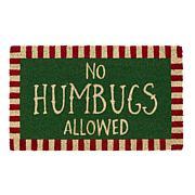 Design Imports No Humbugs Doormat
