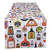"""Design Imports Poison Printed 14"""" x 72"""" Table Runner"""