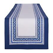 Design Imports Porto Stripe Print Table Runner