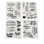Diamond Press Cardmaking Sentiments Stamp Kit