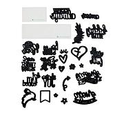Diamond Press Faith Sentiments 24-piece Die Bundle