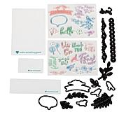 Diamond Press Lots of Love Stamp and Die Bundle