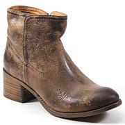 Diba True Walnut Grove Leather Western Ankle Boot