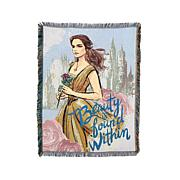 """Disney's Beauty and the Beast """"Beauty Within"""" Tapestry"""