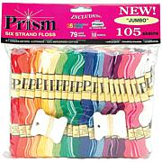 DMC Prism 6-Strand Floss Jumbo Pack 8.7yd 105/Pkg - Assorted Colors