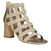 Donald J. Pliner Visto Metallic Caged Dress Sandal
