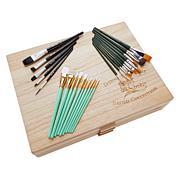 Donna Dewberry One Stroke Brush Drawer 25-piece Set