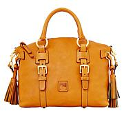 Dooney & Bourke Florentine Leather Bristal Satchel