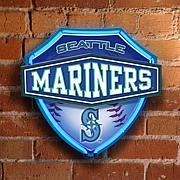 Dual-Lit Neon Wall Lamp - Seattle Mariners - MLB