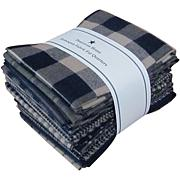 Dunroven House Fat Quarter Bundle - Navy