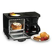 Elite Cuisine 3-in-1 Breakfast Center - Black
