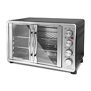 Elite Platinum Double-Door Convection Oven with Rotisserie