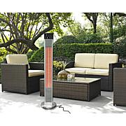 EnerG Freestanding Infrared Electric Outdoor Heater with Remote