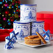 Finger Licking Dutch Holiday Stroopwafel Gift Set