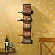 Florenz Wall Mount Wine Rack Sculpture