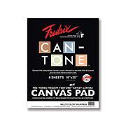 "FREDRIX Can-Tone Multi-Color Canvas 8-Sheet Pad 16"" x 20"""