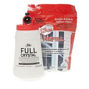 Fuller Brush Co. Full Crystal Window Cleaner Refill Set