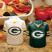 Gameday Ceramic Salt and Pepper Shakers - Packers