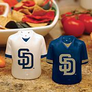 Gameday Ceramic Salt and Pepper Shakers - SD Padres