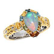 Gems by Michael Ethiopian Opal and Multi-Gemstone Ring