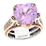 Gems by Michael Pink Kunzite Heart-Cut Ring