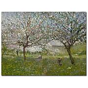 "Giclee Print - Apple Trees in Flower 32"" x 26"""
