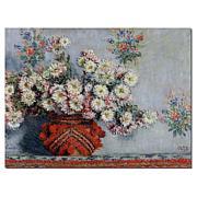 Claude Monet, 'Chrusanthemums, 1878' Canvas Art
