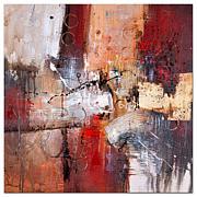 Rio 'Cube Abstract V' Canvas Art Print