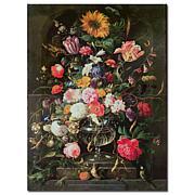'Still Life' by Cornelis de Heem Canvas Art Print