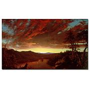 "Giclee Print - Twilight in the Wilderness 32"" x 18"""