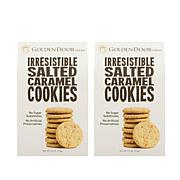 Golden Door Irresistible Cookies 2pk - Salted Caramel